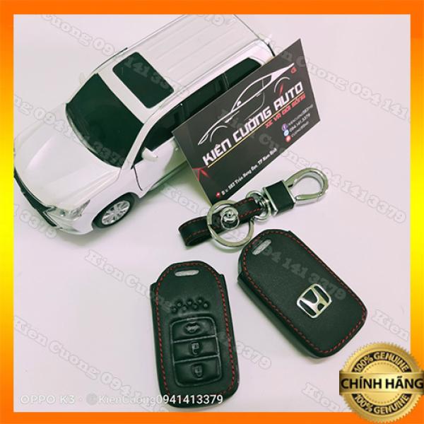 Bao da Chìa Khóa Honda 3 nút - Mẫu Chìa Thông Minh