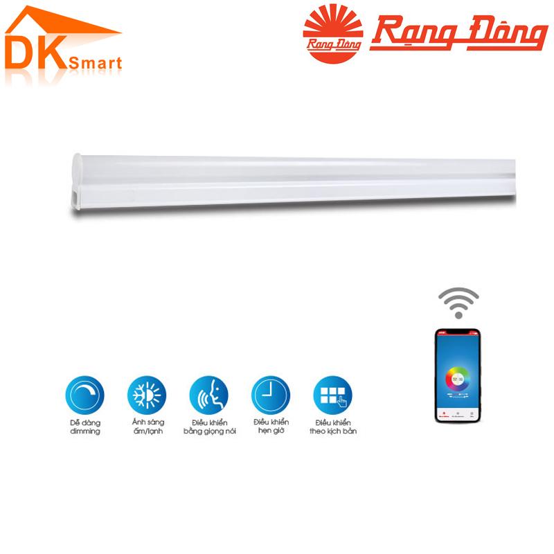 Bộ Đèn LED Tuýp Wifi 16w Rạng Đông, Bảo Hành 24 Tháng - Hàng Chính Hãng