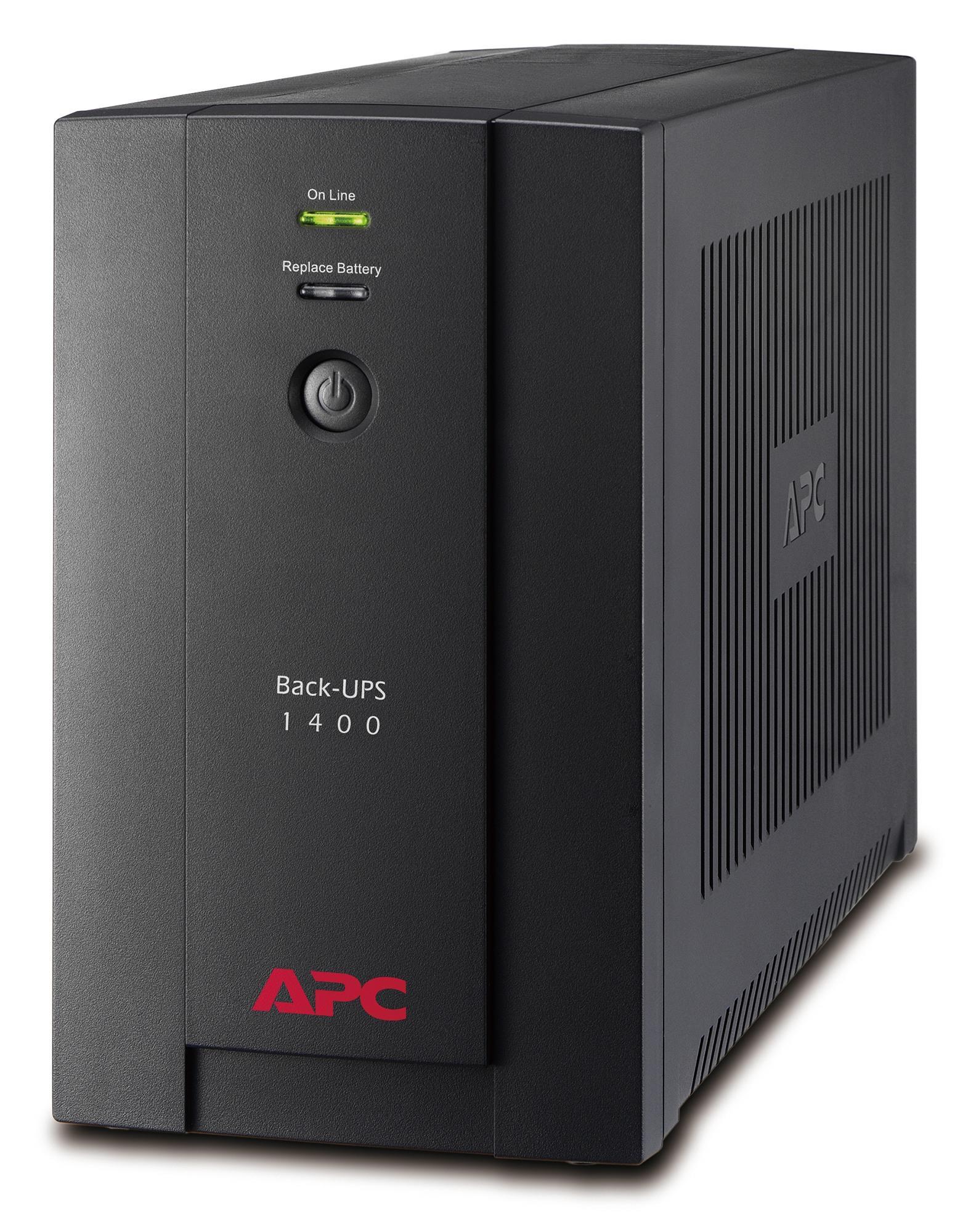 Bảng giá Bộ lưu điện: Back-UPS 1400VA, 230V, AVR, Universal and IEC Sockets - BX1400U-MS Phong Vũ