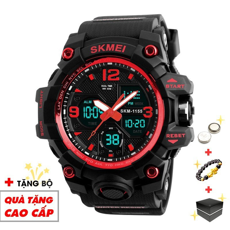 Đồng hồ nam SKMEI điện tử thể thao chính hãng đa chức năng siêu bền chống nước SME25 -SHOP NGỌC HUYỀN