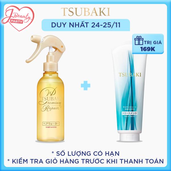 Xịt dưỡng Tsubaki phục hồi ngăn rụng tóc nhập khẩu
