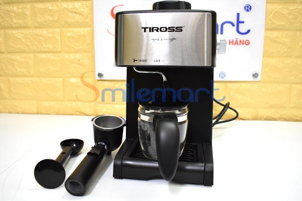 [RẺ VÔ ĐỊCH] Máy pha cà phê 4 cốc Tiross TS621 (Chuẩn vị cà phê, Sánh, Ngon)