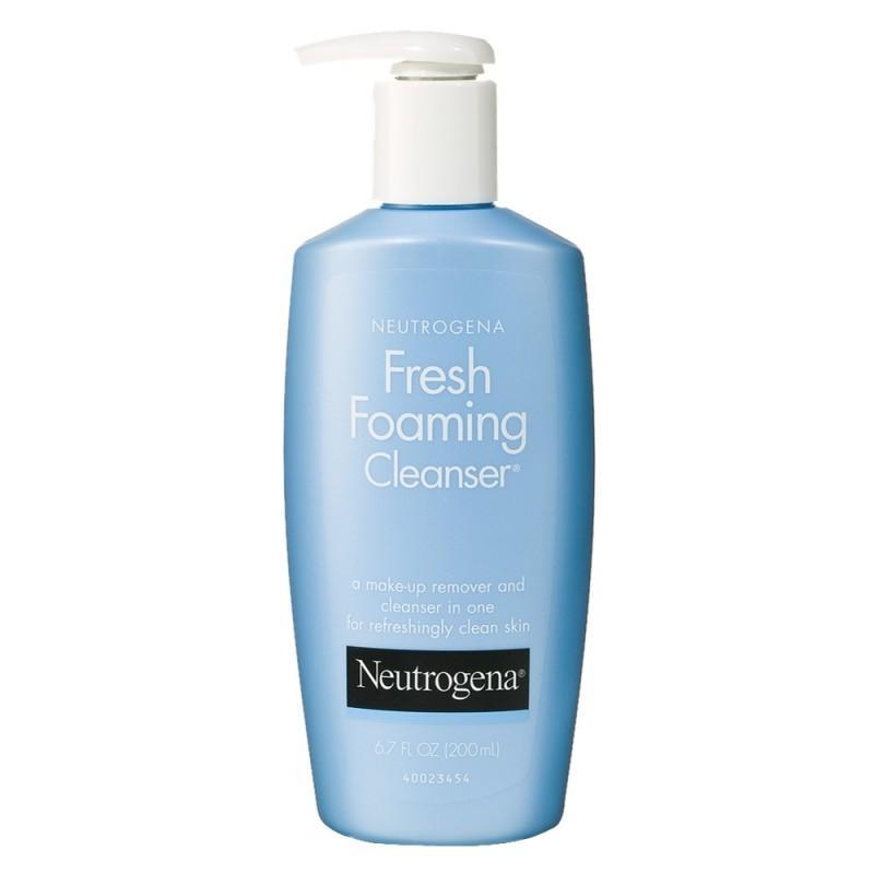 Sữa rửa mặt tẩy trang 2 in 1 Neutrogena Fresh Foaming Cleanser 198ml nhập khẩu