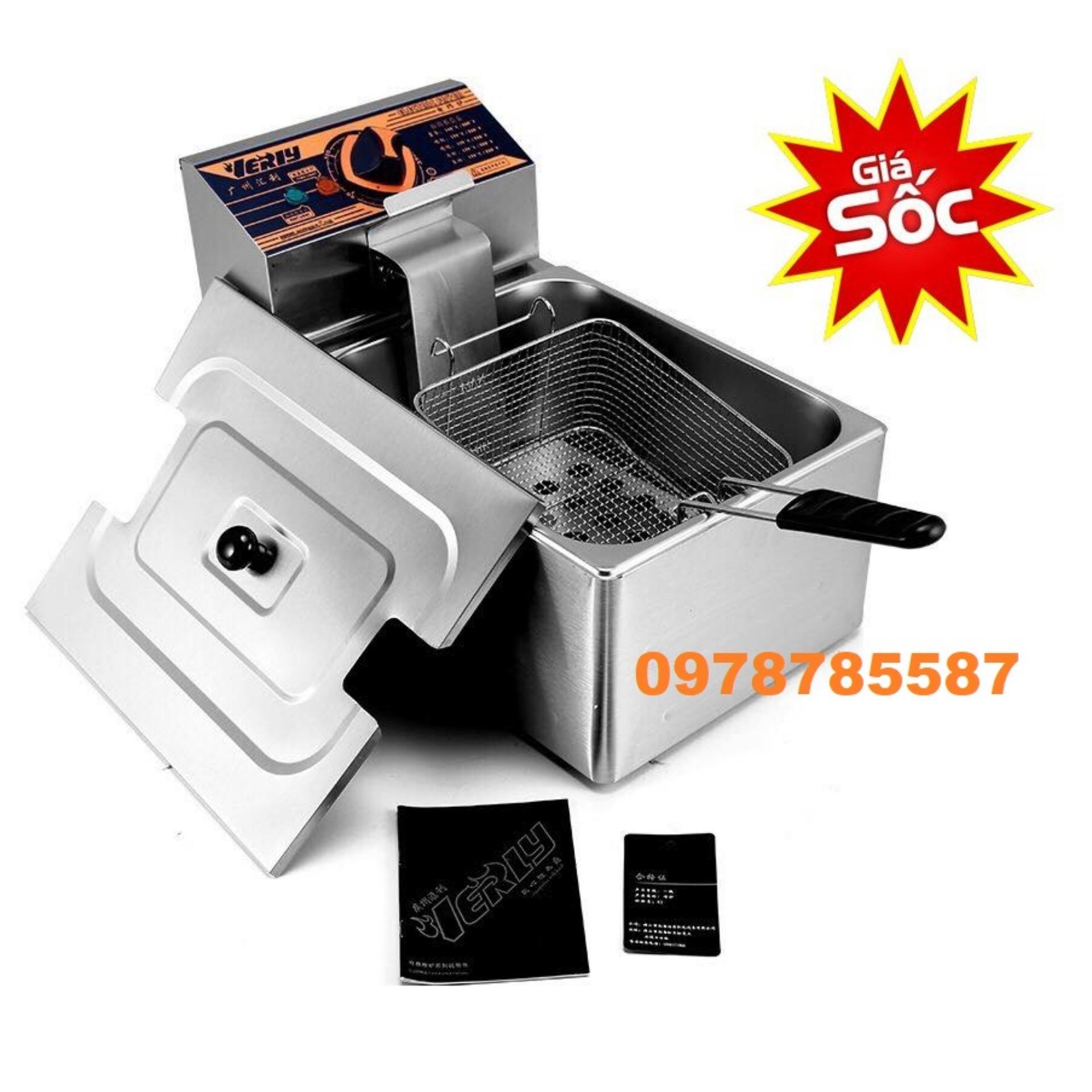 Bếp chiên điện VERlY -HY81R