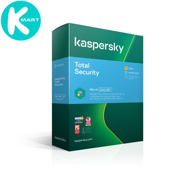 Bảng giá Phần mềm diệt Virus Kaspersky Total Security - Hàng Chính Hãng Phong Vũ