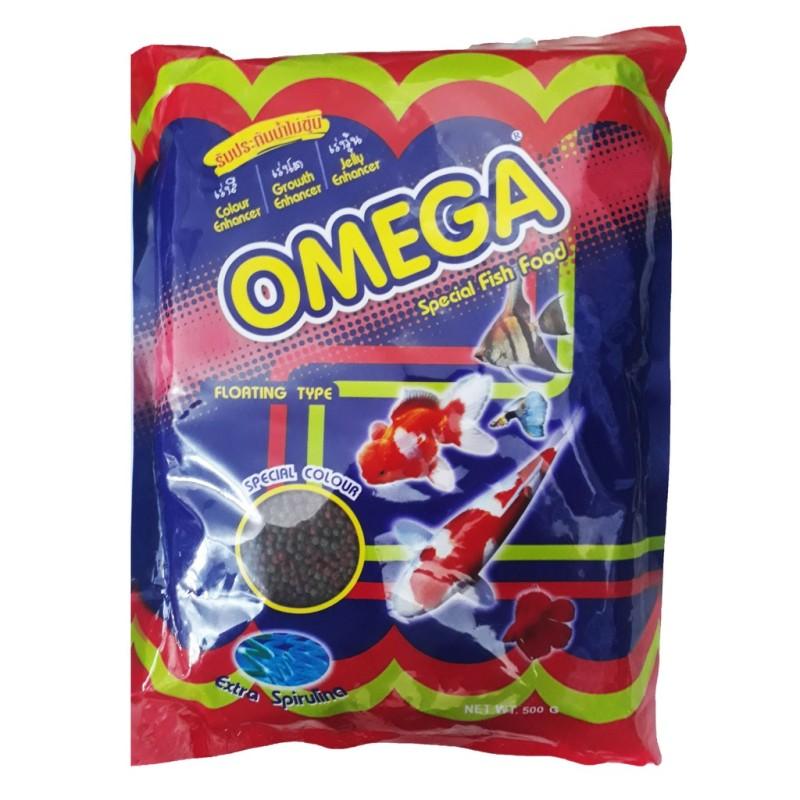 Thức ăn cá Omega 500gram không đục nước
