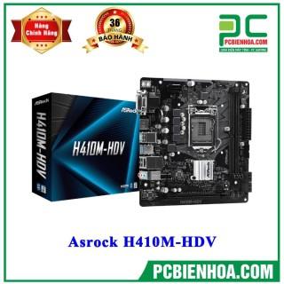 Mainboard Asrock H410M-HDV ( LGA1200 M-ATX 2xDDR4 ) thumbnail