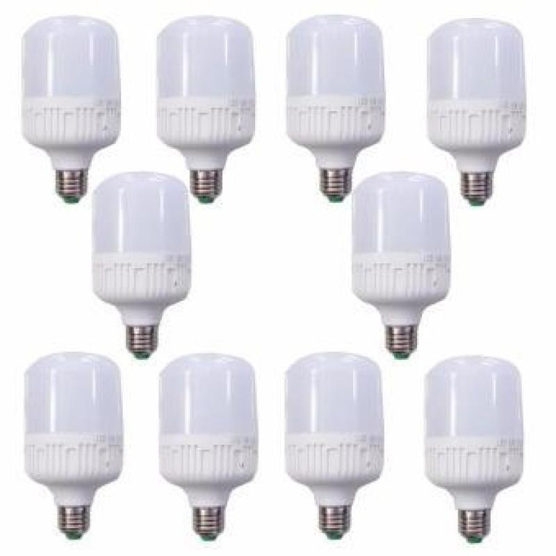 Bộ 10 bóng đèn LED Trụ 20W (Ánh sáng Trắng)