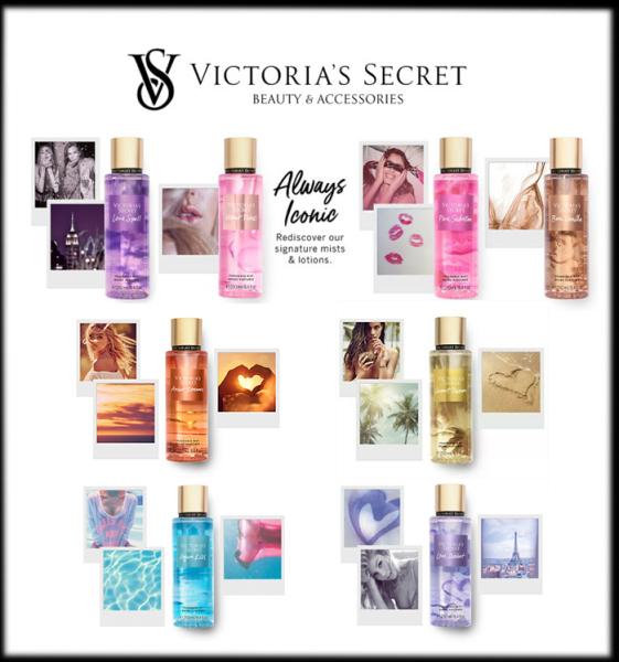 [VIC - BST TRUYỀN THỐNG] Xịt Thơm Nước Hoa Toàn Thân Victoria's Secret  Body Mist Always Iconic Fragrance Mist (250ml)