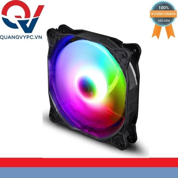 Giá Fan case Infinity Kaze led RGB - 1500 vòng đầu nguồn 4pin