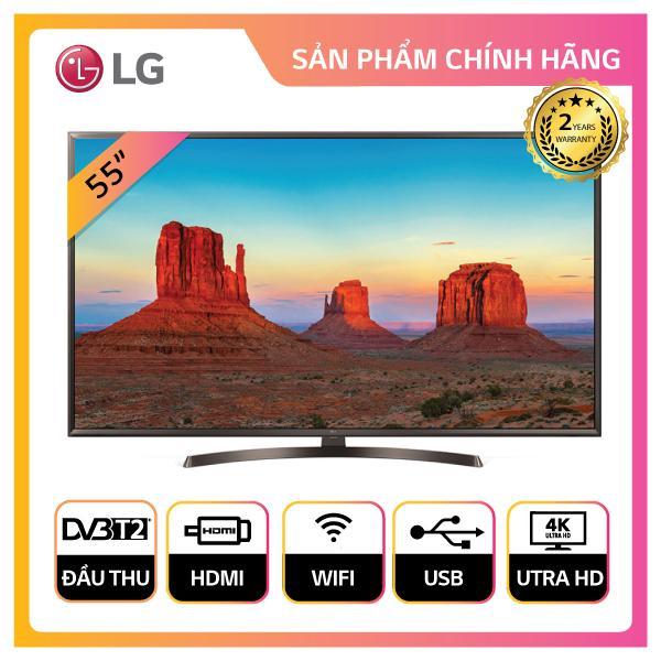 Smart TV LG 55inch 4K Ultra HD - Model 55UK6340PTF (Đen) - Hãng phân phối chính thức