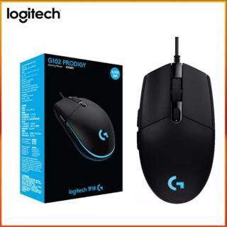 [ SALE 50% - BẢO HÀNH 12 THÁNG ] Chuột Chơi Game Logitech G102 Gen2 LightSync - Chuột Quang Có Dây Hỗ Trợ Máy Tính Để Bàn Laptop Hỗ Trợ Windows 10 8 7 thumbnail