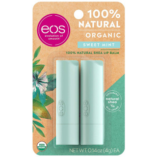 Vĩ 2 Thỏi Son Dưỡng Môi EOS Organic 4g thumbnail