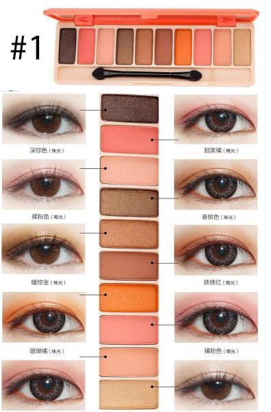 Bảng phấn mắt Play Color Eyes của Lameila hàng nội địa Trung - 1126 giá rẻ