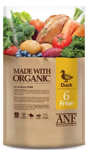 Hạt ANF 6 Free Organic vị Vịt 6kg