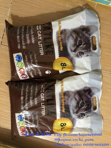 Cát vệ sinh cho Mèo Catlike- cát Nhật  8l