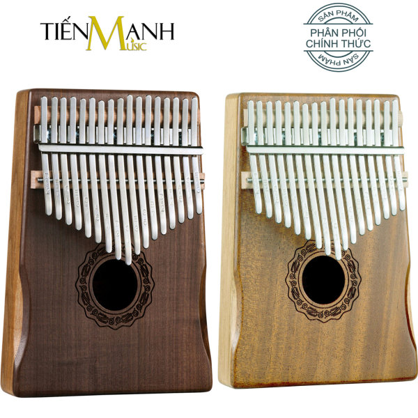 Đàn Kalimba 17 Phím Hluru KD-MH và KD-WA (Gỗ Mahogany, Walnut) - Nhạc Cụ Tiến Mạnh Music