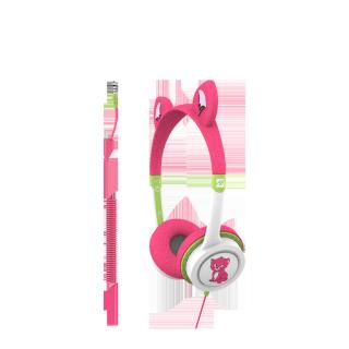 Tai nghe iFrogz mức âm lượng giới hạn 85db, thiết kế nhiều kiểu dáng ngộ nghĩnh dành riêng cho trẻ em Headphone Little Rockerz thumbnail