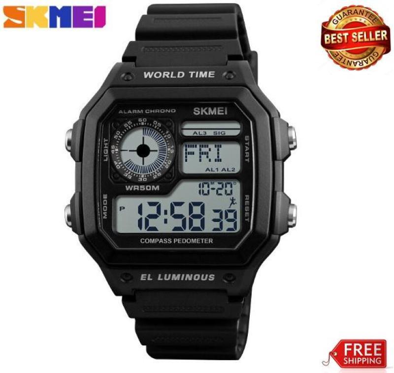 Đồng hồ nam điện tử đa chức năng Skmei 1373