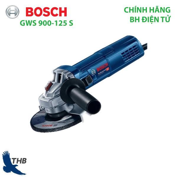 Máy mài góc cầm tay Mày cắt cầm tay Bosch GWS 900-125 S Công tắc đuôi Công suất 900W đá 125mm Bảo hành điện tử 12 tháng