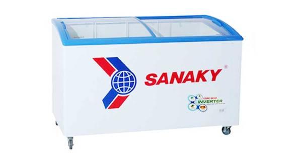 Bảng giá Tủ đông Sanaky mặt kính 1 chế độ dàn đồng VH-3899K 302 Lít Mặt Kính Cong Điện máy Pico