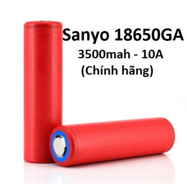 Bảng giá Pin Li-ion 18650 Sanyo / Panasonic NCR18650GA - 3500mah - 10A 18650GA - [P2] PANASONIC GA