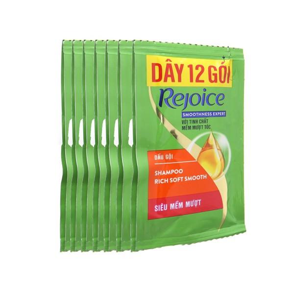 Combo 5 dây dầu gội Rejoice siêu mượt 14 gói x 6g, cam kết hàng đúng mô tả, chất lượng đảm bảo an toàn đến sức khỏe người sử dụng, đa dạng mẫu mã, màu sắc, kích cỡ