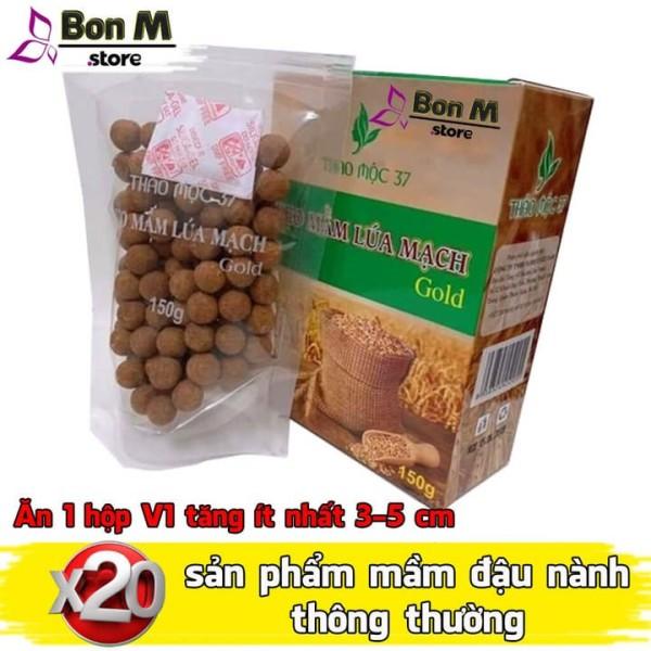 Sale Kẹo mầm lúa mạch gold thảo mộc 37 sản phẩm y hình