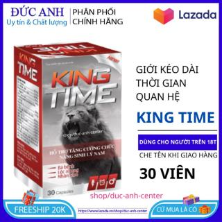 Bổ thận tráng dương tăng cường sinh lý King Time hộp 30 viên HSD 2023 thumbnail