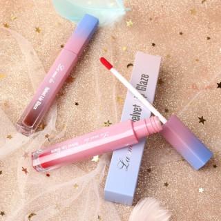 TAKOYA - Son Lameila Velvet Lip Glaze nội địa Trung son lâu trôi son có dưỡng son môi đẹp son môi học sinh thumbnail