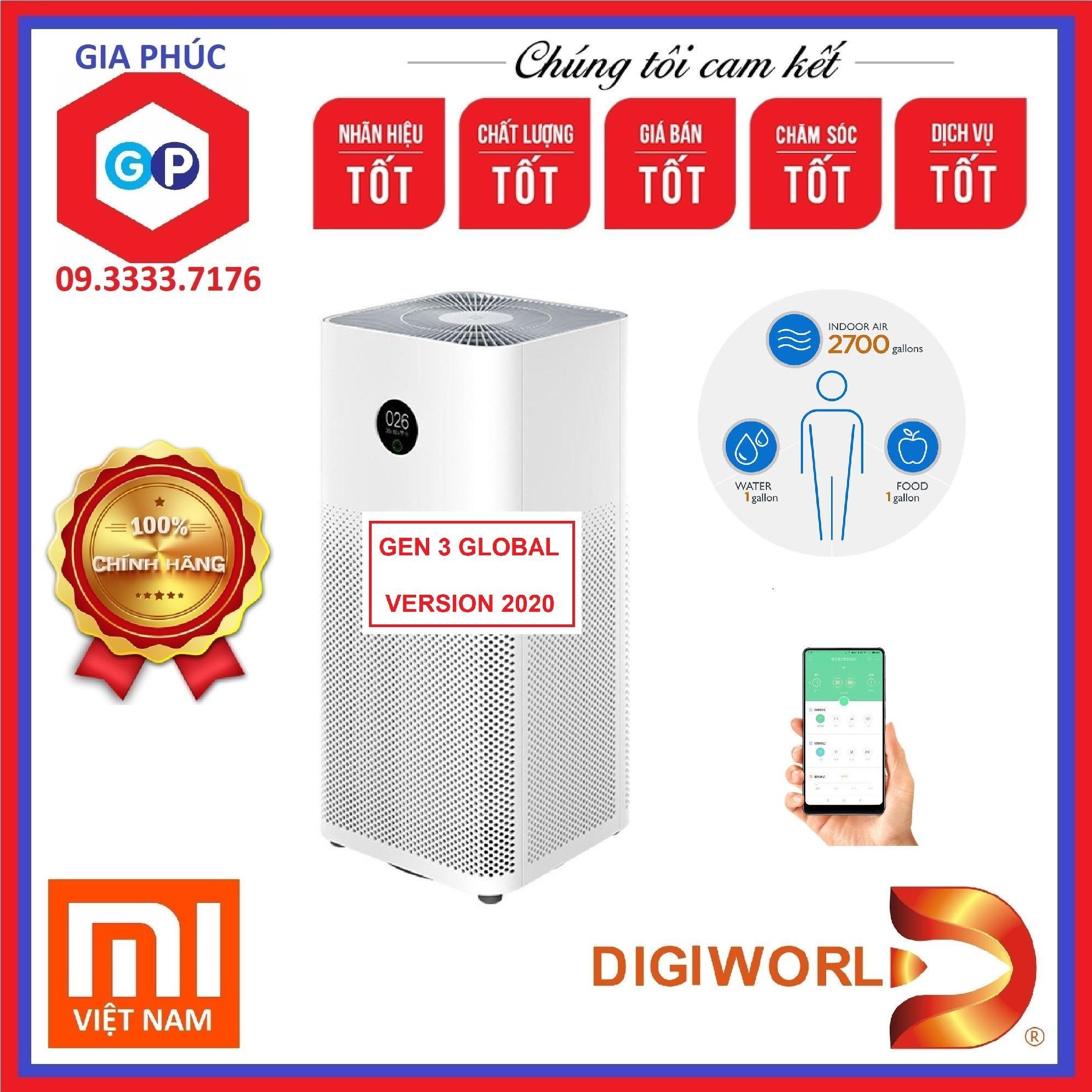 Bảng giá Máy lọc không khí Xiaomi Pro Gen 3H (Mi Gen 3 ) / Room 50m2 - Global Version - Hãng Phân Phối