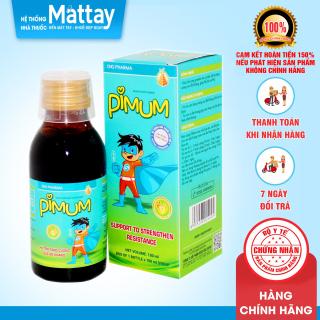 Pimum - DHG Pharma - Chai 100ml - Hỗ Trợ Tăng Cường Sức Đề Kháng thumbnail