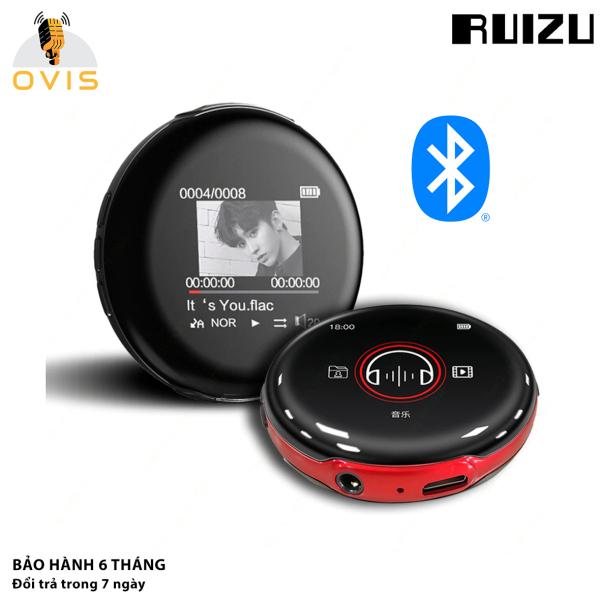[BH 1 ĐỔI 1] Máy Nghe Nhạc Bluetooth Ruizu M1 Cảm ứng, Tặng Tai Nghe, Thiết Kế Siêu Độc Đáo (8Gb)