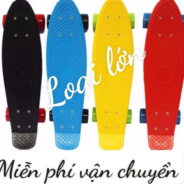 Giá bán Ván Trượt thể thao Pennny Board loại to có đèn - xe trượt - lướt ván  - xe tượt - ván tượt - ván trượt - ván trượt người lớn -ván trượt trẻ em - ván trượt người lớn supreme - ván trượt giá rẻ -ván trượt dài