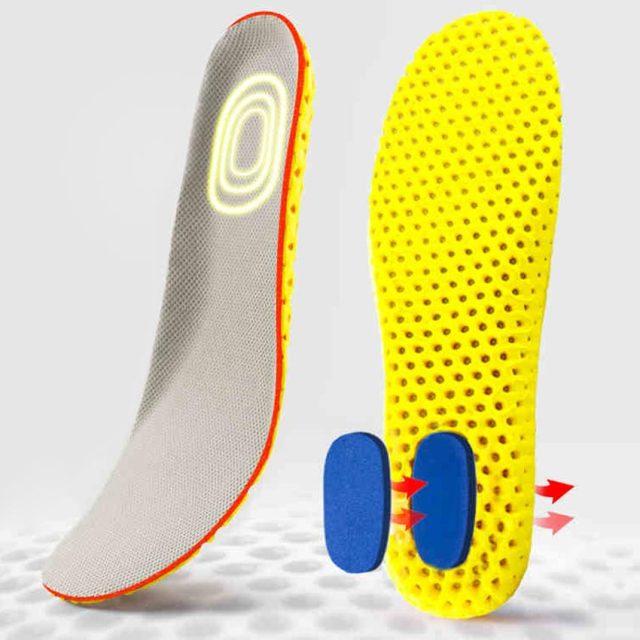 Combo 3 đôi lót giày thể thao chuyên dụng, đàn hồi, êm chân, thoáng khí và chống thốn gót ZATA - ZTX05 giá rẻ
