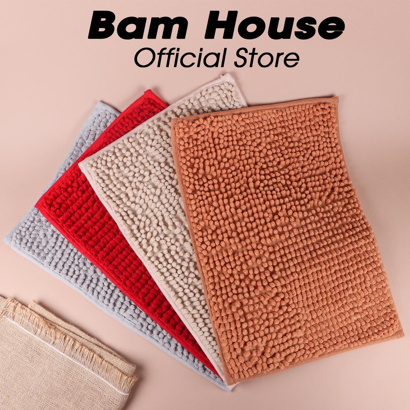 [HCM]Thảm chùi chân san hô Bam House 2 lớp loại lớn szie 30x50cm cao cấp TTC01 - Màu ngẫu nhiên – BamBam Store