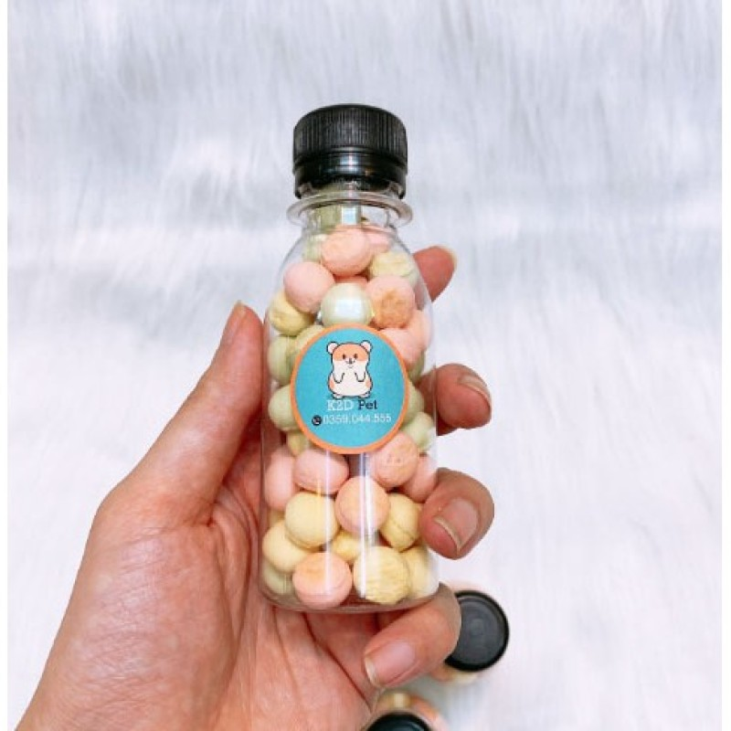 Bánh Sữa Milk Ball Cho Hamster Lọ 100ml