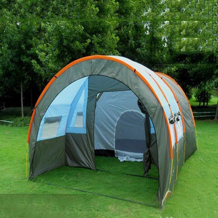 Lều Cắm Trại Cỡ Lớn 3 Phòng - Dành Cho 12 Người