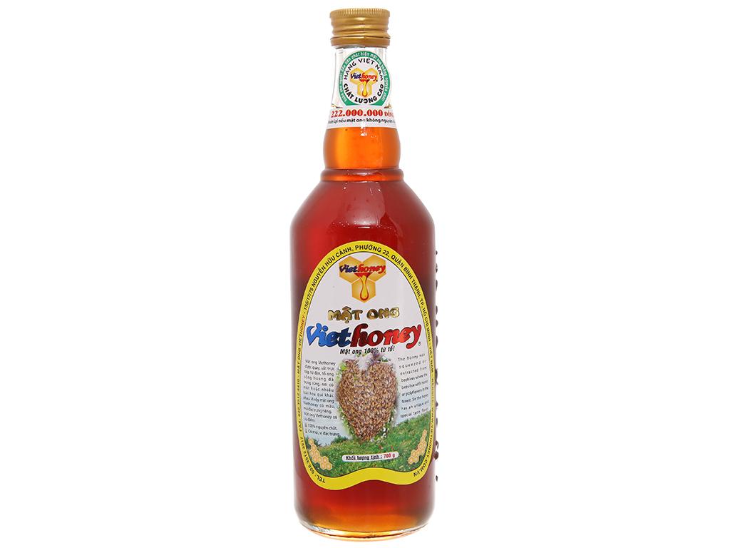 Mật ong Viethoney chai 700g cao cấp