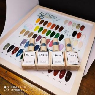 Set sơn móng tay 56 Dirse Yapas kèm bảng màu, nước sơn đặc,màu bóng và mướt, tăng cường màu gấp 2 khóa ẩm tốt, nhanh khô thumbnail