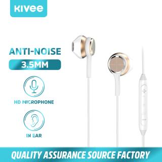 Tai nghe đa năng Tai nghe có dây cho Xiaomi Huawei OPPO Tai nghe chơi game Samsung có mic có dây Tai nghe thể thao âm nhạc HiFi Mô (MT18)KIVEE thumbnail