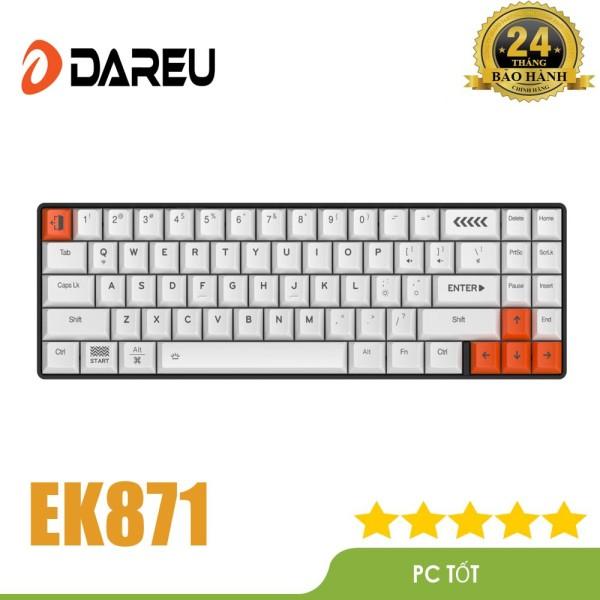 Bảng giá Bàn phím cơ không dây DAREU EK871 71KEY (PBT Blue/ Brown/ Red D-KAILH switch) Phong Vũ