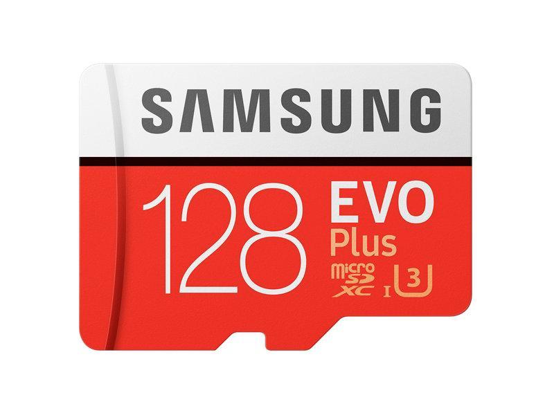 Thẻ nhớ MicroSDXC Samsung EVO Plus 128GB U3 4K - W90MB-R100MB - No Adapter
