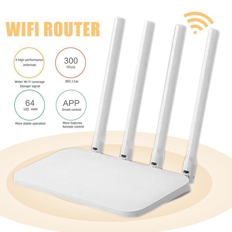 Bộ Phát WiFi Xiaomi Mi Router 4C - Tốc Độ 300Mbps 4 Anten Wifi Router Giá Tốt Duy Nhất tại Lazada