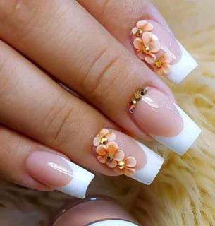 Hoa nổi 4D ,Fantasy HN009 set 2 hoa theo màu. Sản phẩm trang trí móng , vẽ nổi, Nail desige , hoa vẽ nổi. (hàng vẽ tay không đổ khuôn ) thumbnail