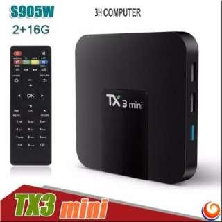 Android Tivi Box Tanix TX3 Mini - Ram 2GB, Rom 16GB xem phim miễn phí