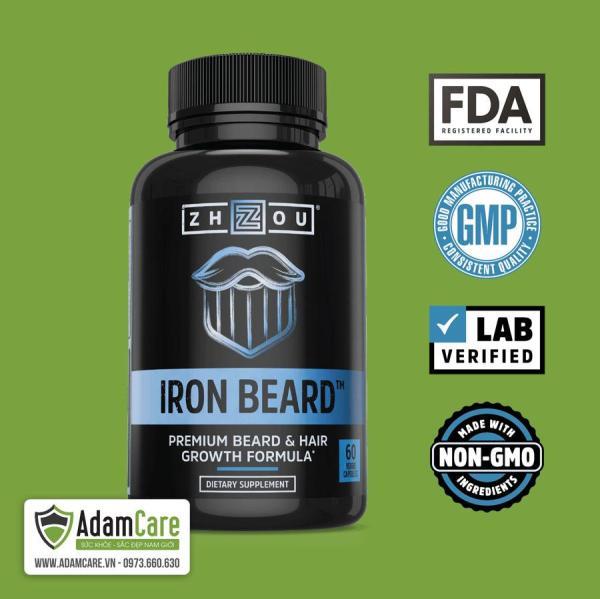 Iron Beard - Multi Vitamin cho Râu, tóc