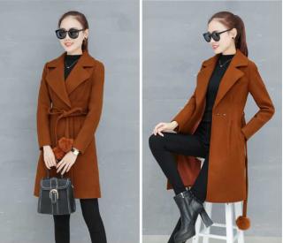 [Sale 50%] Áo dạ nữ ép 2 lớp đày dặn phong cách hàn quốc trẻ trung sang trọng đủ size 35 đến 56kg thumbnail