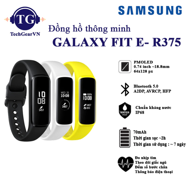 Đồng hồ đeo tay Samsung galaxy Fit E R375