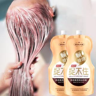 Chăm sóc tóc Kem duỗi tóc Keratin hair mask 500g Phục hồi tóc cấp salon Không cần xông hơi vẫn có thể dưỡng tóc phục hồi tóc hư tổn giảm rụng tóc Cải thiện tình trạng gãy tóc hai bên thumbnail